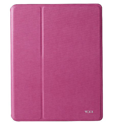 TUMI iPad snap cover (Raspberry