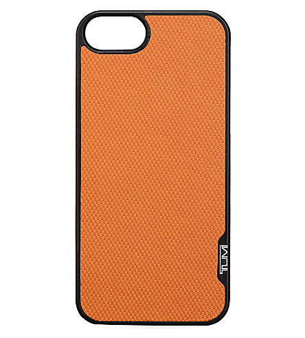 TUMI Snap iPhone 5 case (Orange