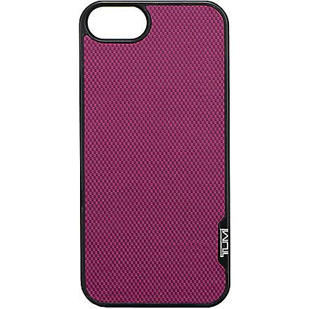 TUMI Snap iPhone 5 case (Purple