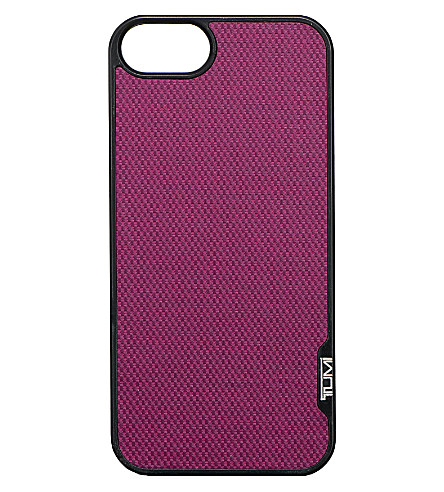 TUMI Snap iPhone 5 case (Purple