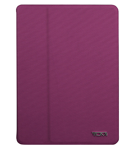 TUMI Portfolio Snap iPad Air case (Purple