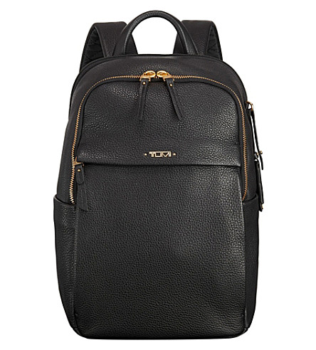 TUMI Daniella limited edition small leather backpack (Black