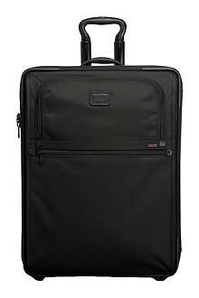 TUMI International expandable carry-on suitcase