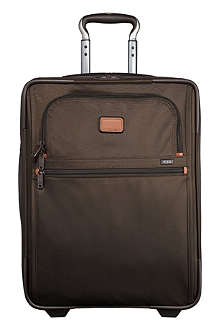 TUMI Alpha 2 continental two-wheel carry-on