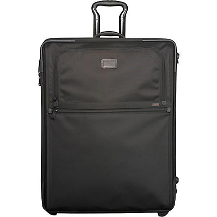 TUMI Alpha Continental two-wheel cabin suitcase 56cm (Black