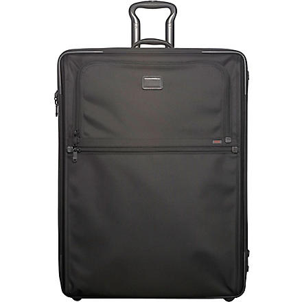 TUMI Alpha expandable two-wheel suitcase 76cm (Black