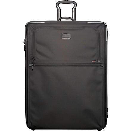 TUMI Alpha expandable two-wheel suitcase 76cm (Black