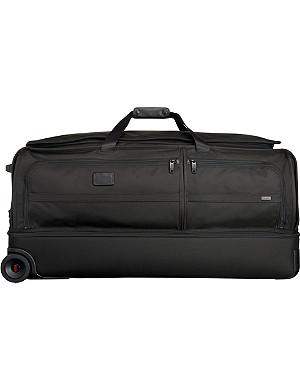 TUMI Alpha 2 extra large two-wheel split duffel bag