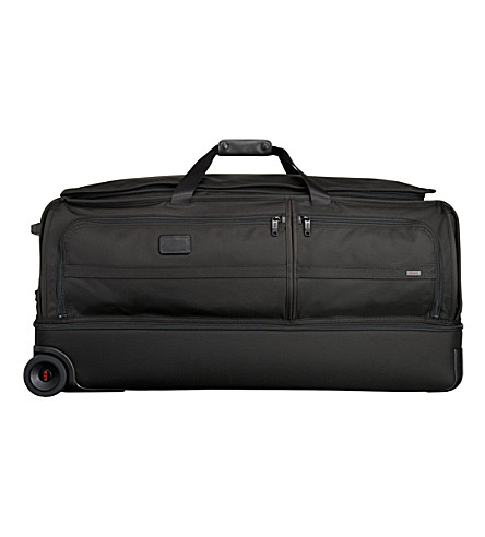 TUMI Alpha 2 extra large two-wheel split duffel bag (Black