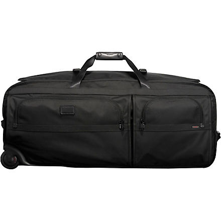TUMI Alpha extra large wheeled duffel bag (Black