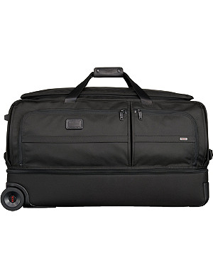 TUMI Alpha 2 large two-wheel split duffel bag