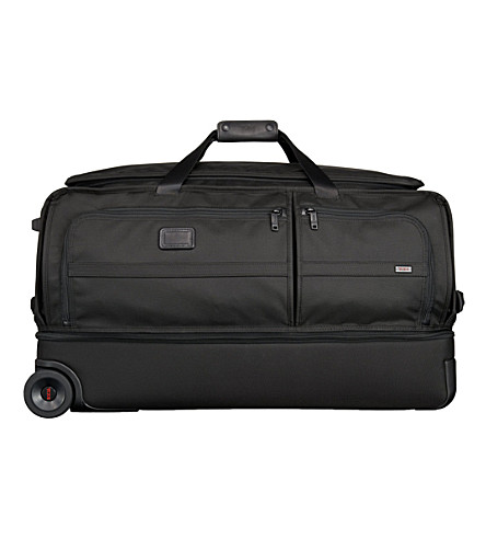 TUMI Alpha 2 large two-wheel split duffel bag (Black