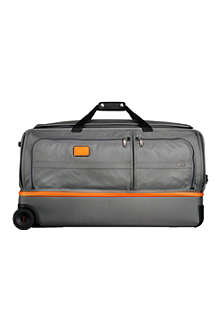 TUMI Alpha 2 large two-wheel split duffel bag
