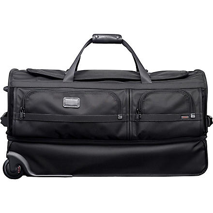 TUMI Alpha split wheeled duffel bag (Black