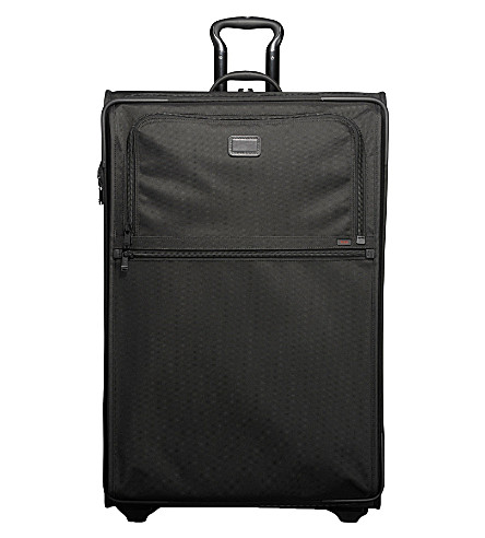 TUMI Alpha expandable worldwide-trip suitcase 86cm (Black