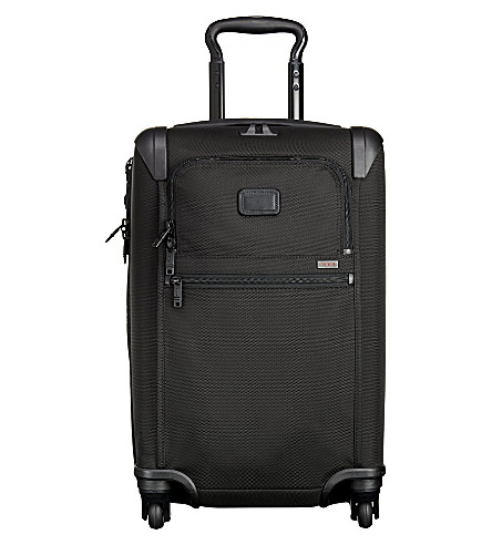 TUMI 22060 Alpha 2 International expandable four-wheel suitcase (Black