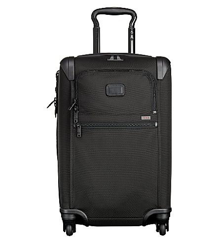 TUMI 22060 Alpha 2 International expandable four-wheel suitcase (Black