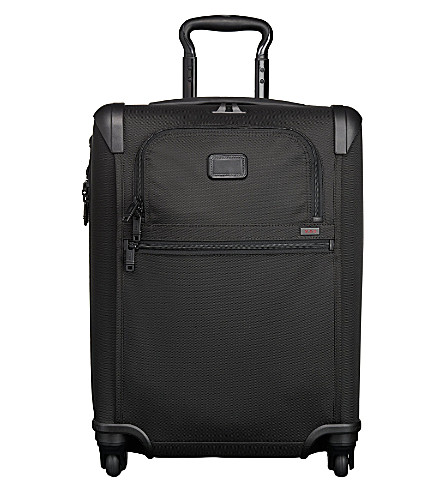 TUMI Alpha 2 Continental four-wheel expandable carry on (Black
