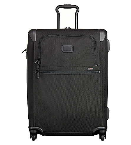 TUMI Alpha 2 short trip expandable four-wheel suitcase (Black