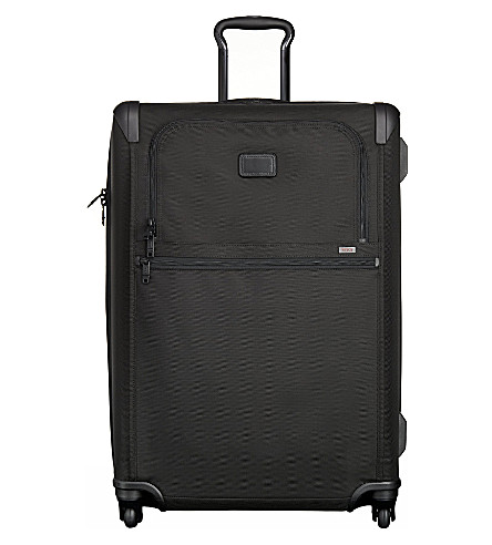 TUMI Alpha 2 22067 medium trip four-wheel suitcase (Black