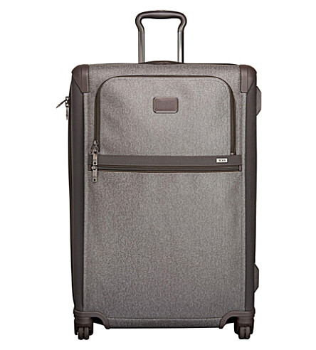 TUMI Alpha 2 medium trip 4 wheeled expandable suitcase (Earl+grey