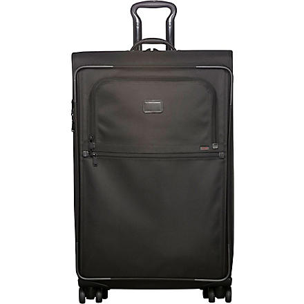 TUMI Alpha expandable four-wheel suitcase 81.5cm (Black