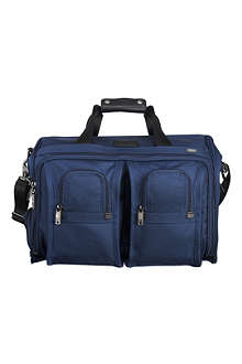 TUMI Deluxe carry-on satchel