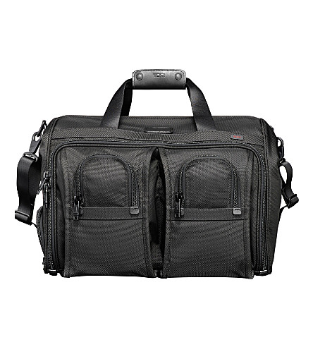 TUMI Deluxe carry-on satchel (Black
