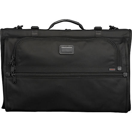 TUMI Alpha tri–fold garment bag (Black