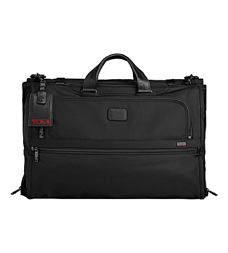 TUMI Alpha 2 trifold carry-on garment bag (Black