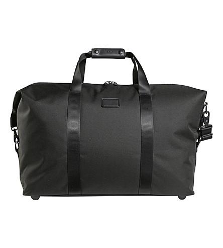 TUMI Alpha 2 large soft travel satchel (Black