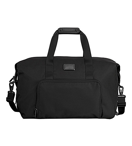 TUMI Double expansion travel satchel (Black