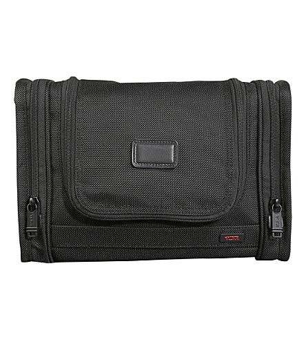 TUMI Alpha 2 hanging toiletry bag (Black