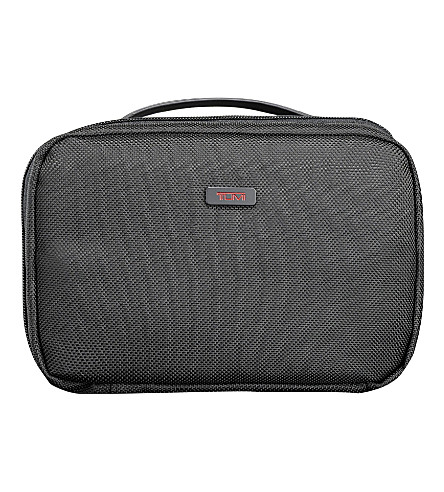 TUMI Alpha 2 split wash bag (Black