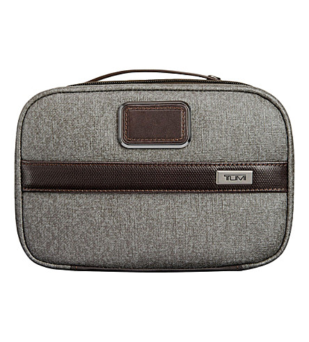 TUMI Split travel kit (Earl+grey