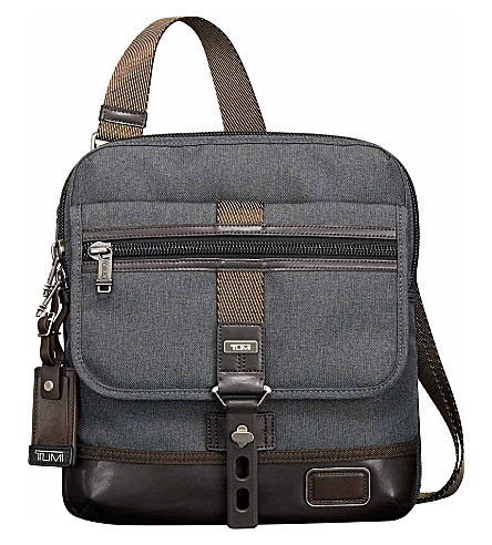 TUMI Alpha Bravo Annapolis shoulder bag (Anthracite