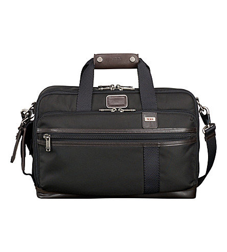 TUMI Mayport three-way brief bag (Hickory