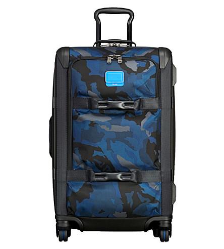 TUMI Alpha Bravo Henderson carry-on suitcase (Blue+camo
