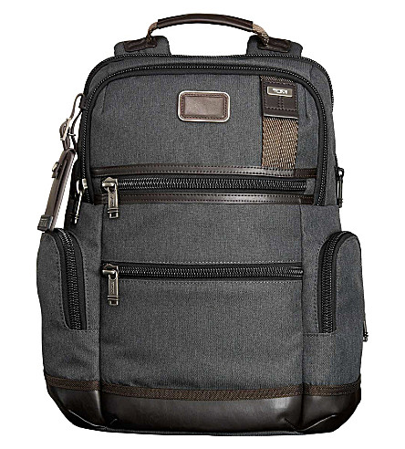 TUMI Alpha Bravo Knox backpack (Anthracite