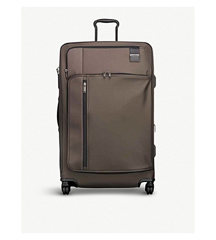 TUMI Extended Trip expandable four-wheel suitcase 78.5cm (Coffee