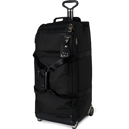 TUMI Alpha Bravo wheeled duffel bag (Black