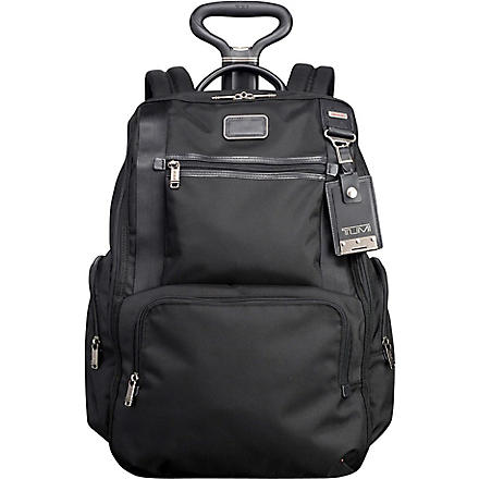 TUMI Alpha Bravo wheeled backpack (Black