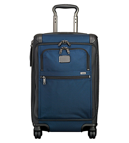 TUMI Front lid international packing case (Navy+black