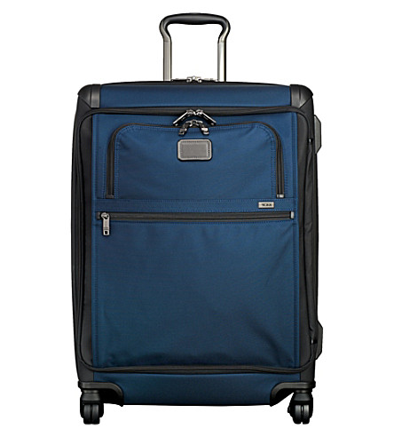 TUMI Front lid short trip packing case (Navy+black