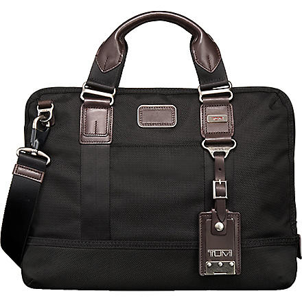 TUMI Earle compact briefcase (Black