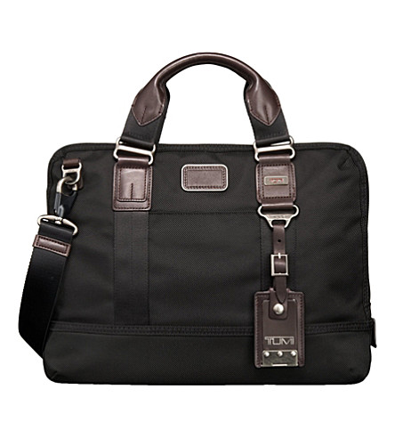 TUMI Earle compact briefcase (Black