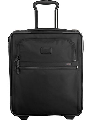 TUMI International two-wheel compact carry suitcase