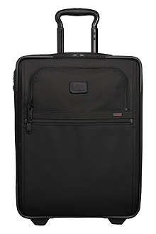 TUMI International two-wheel slim suitcase
