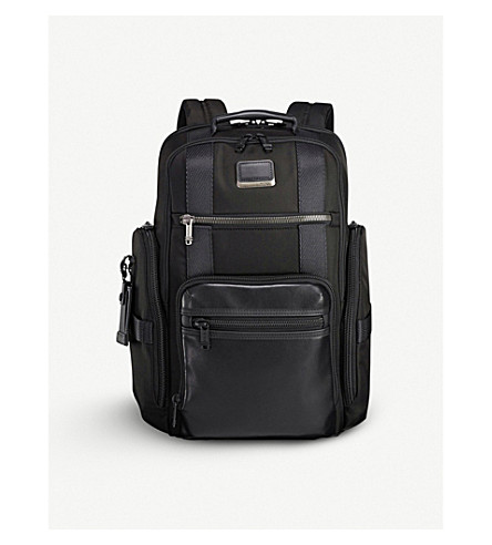 TUMI Alpha Bravo Sheppard deluxe brief backpack (Black