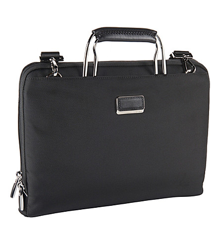 TUMI Halifax portfolio briefcase (Black